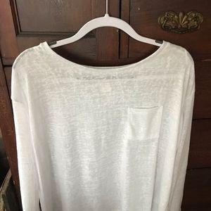 H&M thin white tunic